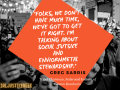 Quote by Greg Sarris about the importance of social justice.