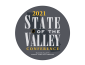Badge for 2021 State of the Valley Conference