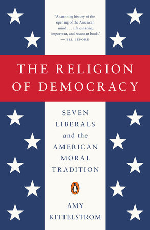 The religion of democracy book cover